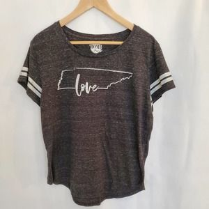Tennessee Love Graphic Tee Shirt Size L